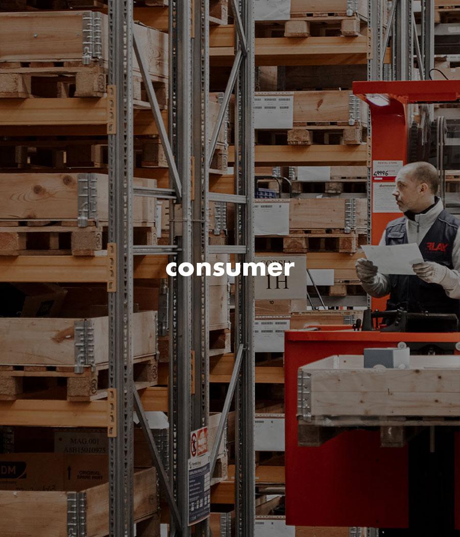 Servizi logistici per industria consumer